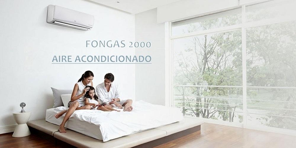 aire acondicionado montado en habitacion